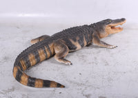American Alligator Life Size Statue - LM Treasures Life Size Statues & Prop Rental
