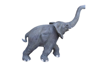 Walking Baby Elephant Life Size Statue - LM Treasures Life Size Statues & Prop Rental