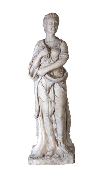 Winter Four Seasons Stone Life Size Statue - LM Treasures Life Size Statues & Prop Rental