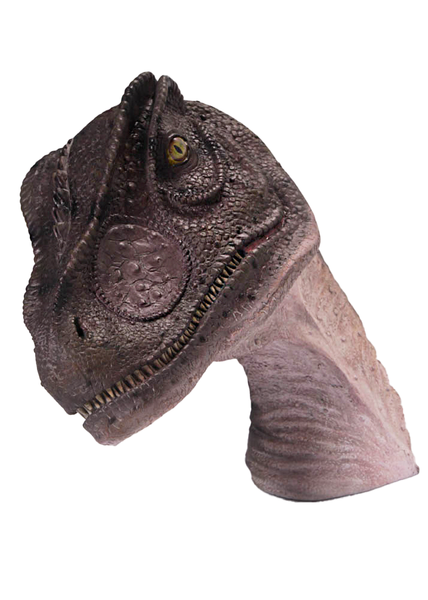 Allosaurus Dinosaur Head Life Size Statue - LM Treasures Life Size Statues & Prop Rental