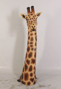 Giraffe Head Life Size Statue - LM Treasures Life Size Statues & Prop Rental
