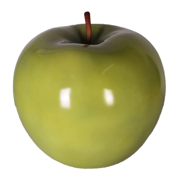Large Green Apple Over Sized Statue - LM Treasures Life Size Statues & Prop Rental