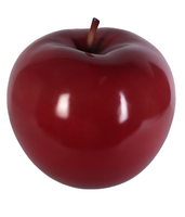 Large Red Apple Over Sized Statue - LM Treasures