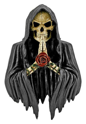 Skeleton  Bust Soul Taker Prop Decor Halloween Statue- LM Treasures