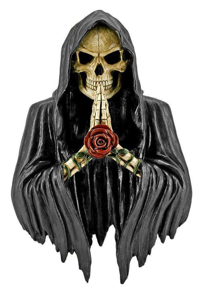 Skeleton  Bust Soul Taker Prop Decor Halloween Statue - LM Treasures Life Size Statues & Prop Rental