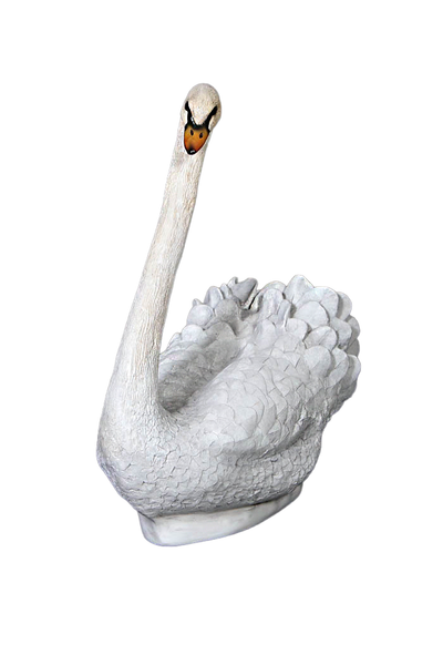 Small Swan Life Size Statue - LM Treasures