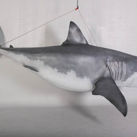 Great White Shark Life Size Statue - LM Treasures