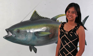 Yellow Fin Tuna Life Size Statue - LM Treasures