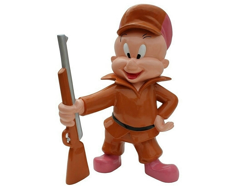 Cartoon Hunter Life Size Statue - LM Treasures Life Size Statues & Prop Rental