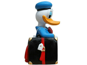 Cartoon White Duck Life Size Statue - LM Treasures Life Size Statues & Prop Rental