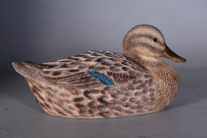 Female Mallard Duck Life Size Statue - LM Treasures Life Size Statues & Prop Rental