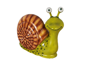 Comic Male Snail Over Sized Statue - LM Treasures Life Size Statues & Prop Rental
