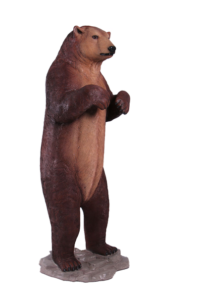 Brown Grizzly Bear Life Size Statue - LM Treasures Life Size Statues & Prop Rental