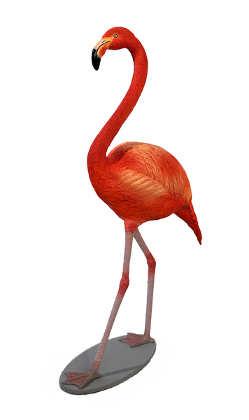Baby Flamingo Life Size Statue - LM Treasures Life Size Statues & Prop Rental