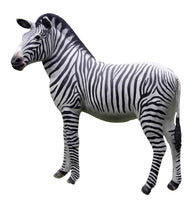 Large Zebra Life Size Statue - LM Treasures Life Size Statues & Prop Rental