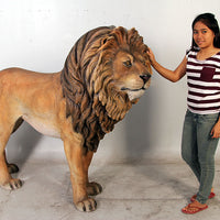 Lion King Life Size Statue - LM Treasures