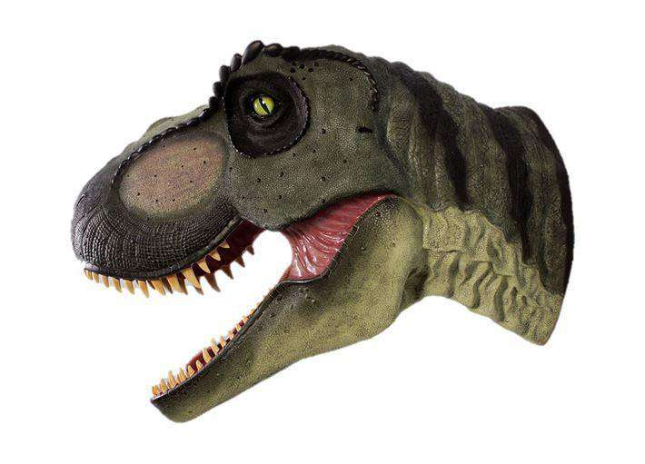 T-Rex Dinosaur Head Jumbo Life Size Statue - LM Treasures Life Size Statues & Prop Rental