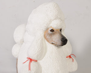 French Poodle Life Size Statue - LM Treasures Life Size Statues & Prop Rental