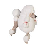 French Poodle Life Size Statue - LM Treasures