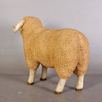 Baby Merino Ram Life Size Statue - LM Treasures Life Size Statues & Prop Rental