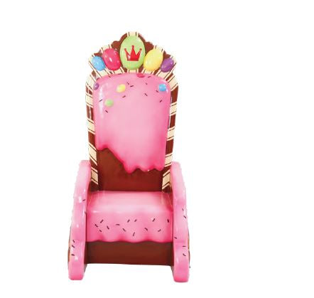Chair Candy King Throne - LM Treasures Life Size Statues & Prop Rental