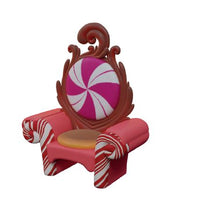 Chair Candy Queen Throne - LM Treasures Life Size Statues & Prop Rental