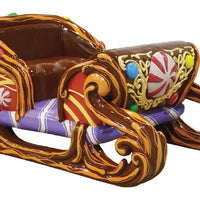 Sleigh Candy (2 Seater) - LM Treasures Life Size Statues & Prop Rental