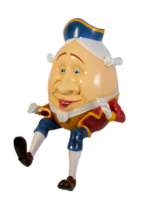 Humpty Dumpty Life Size Statue - LM Treasures Life Size Statues & Prop Rental