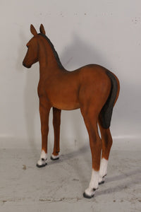 Foal Pony Life Size Statue - LM Treasures