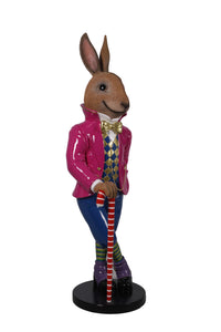 Rabbit Comic Jack Animal Easter Prop Decor Resin Statue - LM Treasures Life Size Statues & Prop Rental