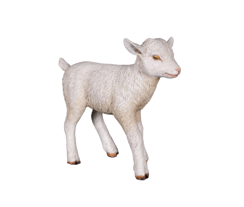 Baby Goat Life Size Statue