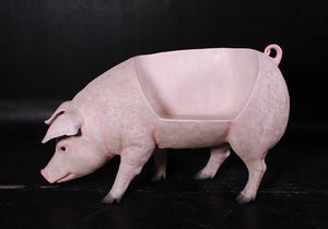 Pig Bench Life Size Statue - LM Treasures Life Size Statues & Prop Rental