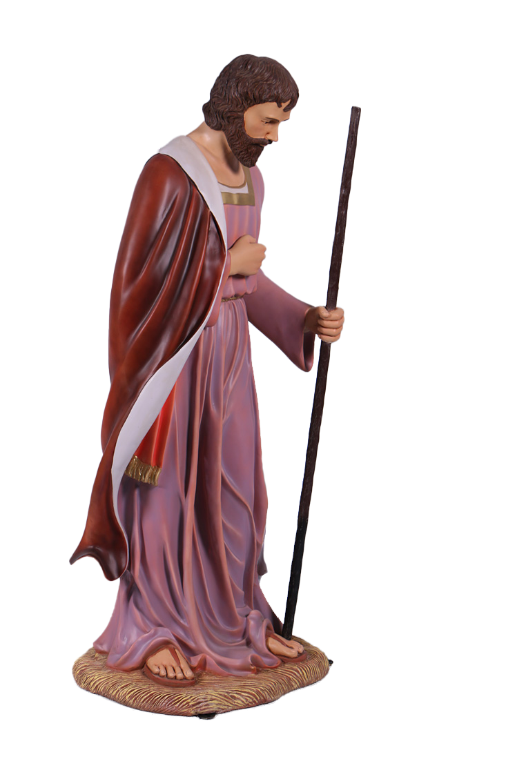 Nativity Joseph Christmas Life Size Statue - LM Treasures Life Size Statues & Prop Rental