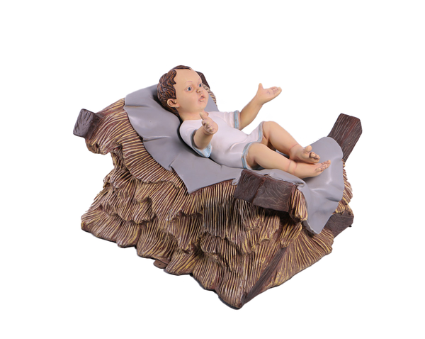 Nativity Baby Jesus Christmas Life Size Statue - LM Treasures