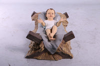 Nativity Set of 8 Life Size Resin Christmas Statues - LM Treasures