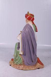Nativity King Melchior Christmas Life Size Statue - LM Treasures Life Size Statues & Prop Rental