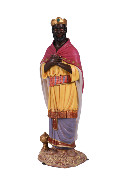 Nativity King Balthasar Christmas Life Size Statue - LM Treasures
