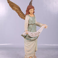 Nativity Angel Christmas Life Size Statue - LM Treasures Life Size Statues & Prop Rental