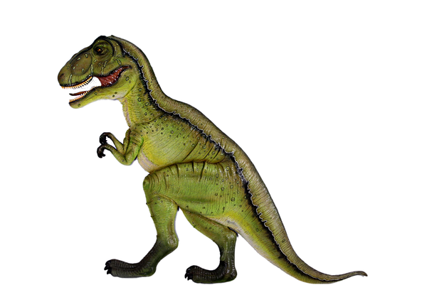 T-Rex Dinosaur Wall Decor Life Size Statue - LM Treasures Life Size Statues & Prop Rental