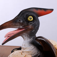 Pteranodon Dinosaur Egg Hatching Life Size Statue - LM Treasures Life Size Statues & Prop Rental