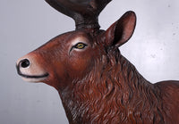 Majestic Stag Deer Life Size Statue - LM Treasures