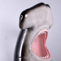 Hammerhead Shark Photo Op Life Size Statue - LM Treasures