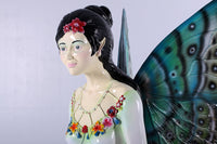 Fairy With Mushroom Over Sized Statue - LM Treasures Life Size Statues & Prop Rental