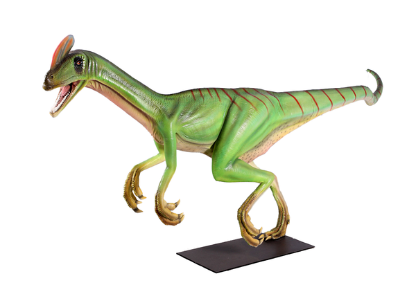 Guanlong Wucaii Dinosaur Life Size Statue - LM Treasures Life Size Statues & Prop Rental