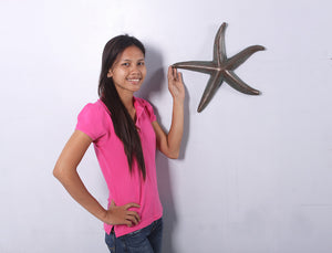 Medium Bronze Starfish Over Sized Statue Prop - LM Treasures Life Size Statues & Prop Rental