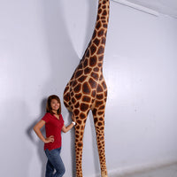Breaking Out Giraffe Life Size Statue - LM Treasures