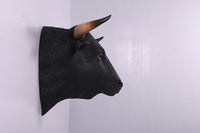 Spanish Fighting Bull Head Life Size Statue - LM Treasures Life Size Statues & Prop Rental