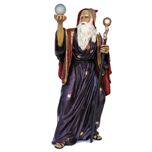 Merlin The Wizard Life Size Statue - LM Treasures Life Size Statues & Prop Rental