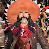 Cowboy Mexican Western Display Prop Decor Resin Statue - LM Treasures Life Size Statues & Prop Rental