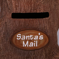Santa's Mailbox Stump Life Size Statue - LM Treasures Life Size Statues & Prop Rental